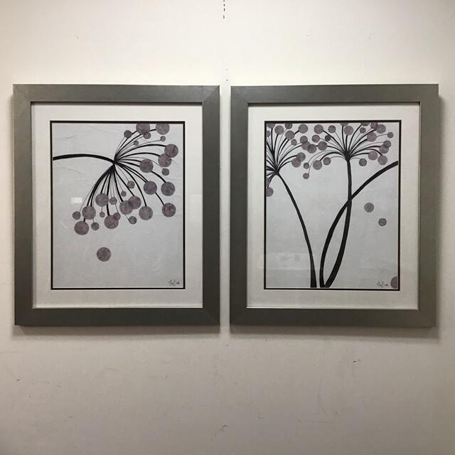 Pair Of Framed Alan Buckle prints