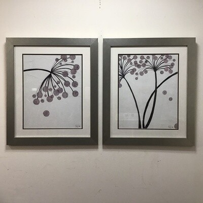 Pair Of Framed Alan Buckle prints