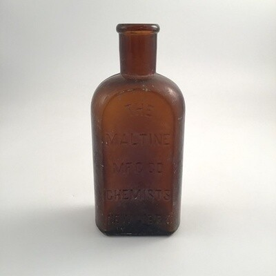 The Maltine Mfg Co Chemistry New York Bottle