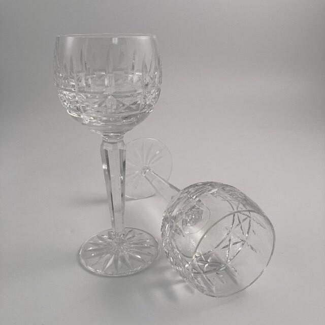 11pc Set Waterford Kylemore Crystal Wine Hocks