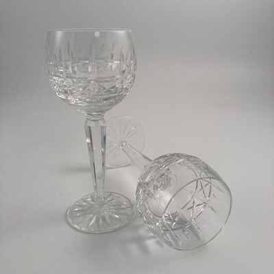 11pc Set Waterford Kylemore Crystal Wine Hocks