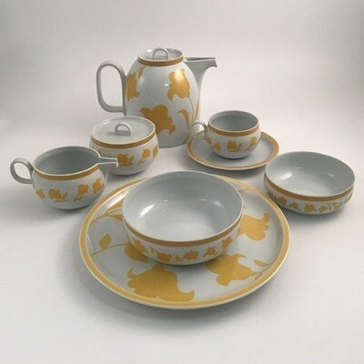 70pc Hearthstone Block Vista Alegre Dinner Service Set