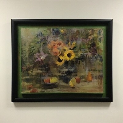 John Richard Sunflower Tapestry Painting