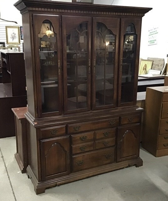 Cherry Dining Room Hutch