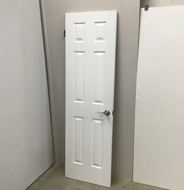 Solid Care Interior Door With Handle