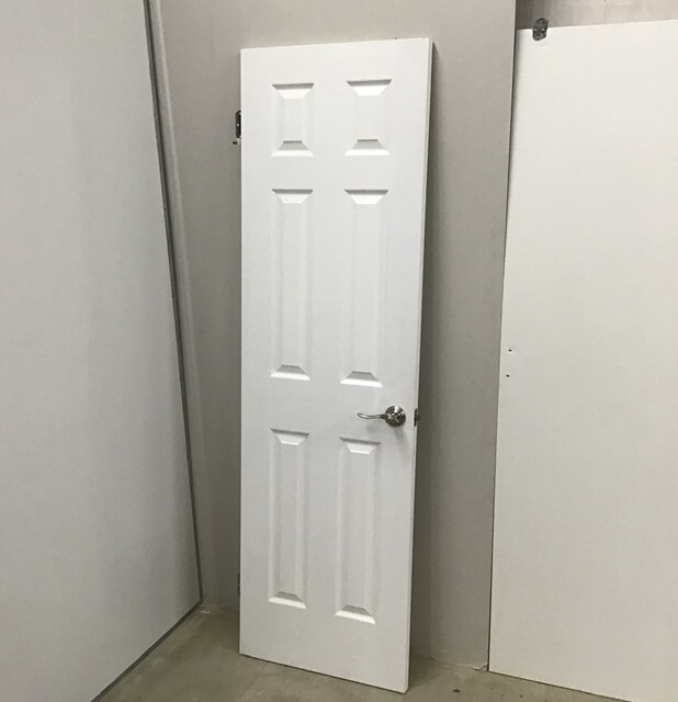 Solid Care Interior Door With Handle