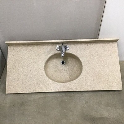 Swan Stone Vanity Sink Top