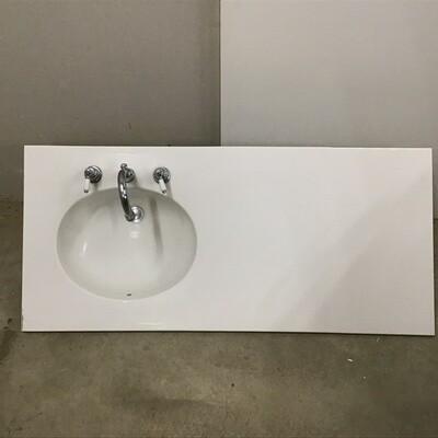 Corian Vanity Sink Top