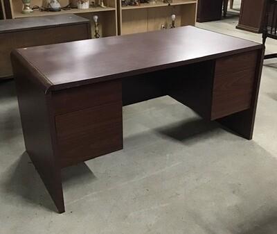Office Desk Cherry Finish