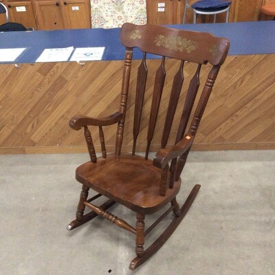 Solid Wood Decorative Rocking Chair