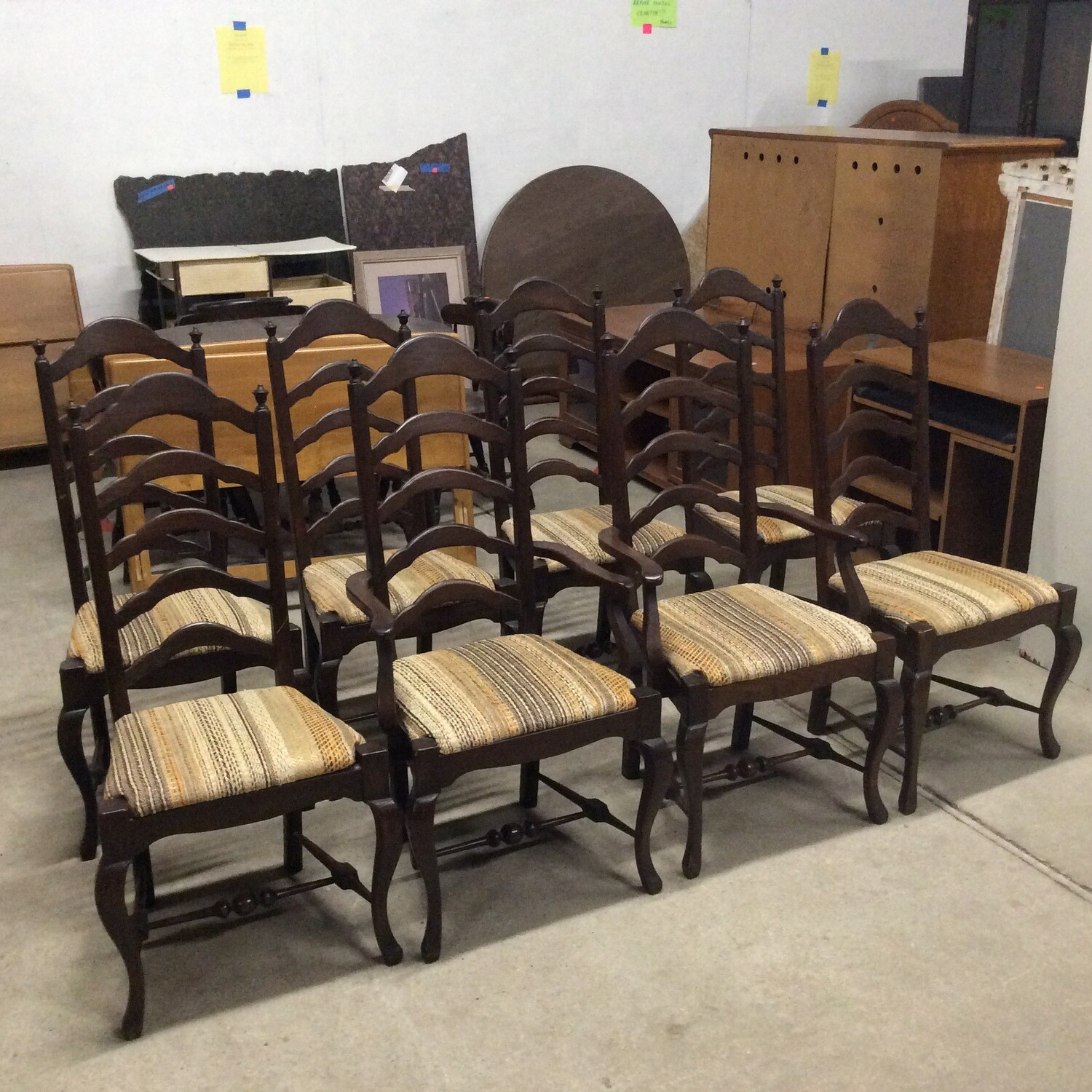 Set 8 Dining Room Chairs
