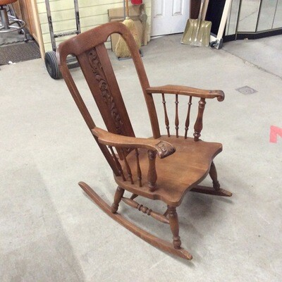 Decorative Wooden Rocker