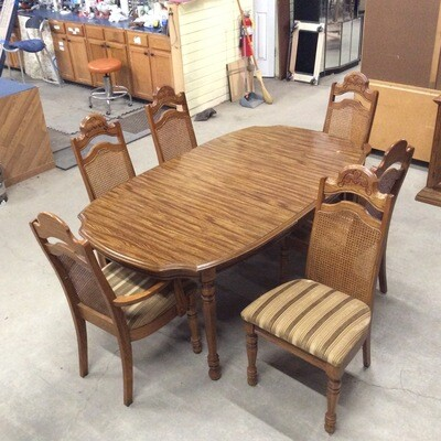 DIning Room Table & 6 Chairs Set
