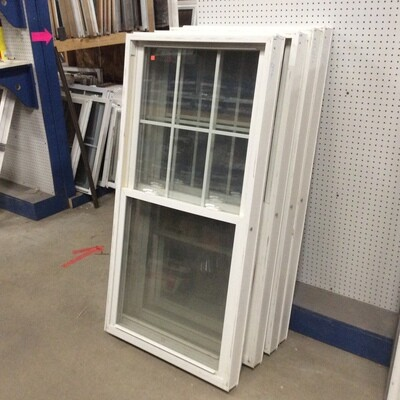 Vinyl Replacement Windows $45 each (5 available)
