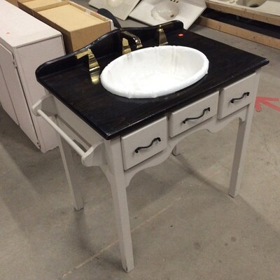 Custom-Built Vanity Table