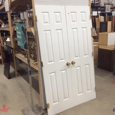 4ft. Set of Solid Core Closet Doors