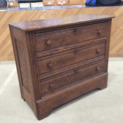 All-Wood 3 Drawer Dresser
