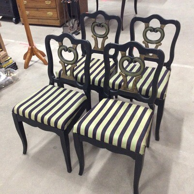 Set of 4 Decorative Chairs