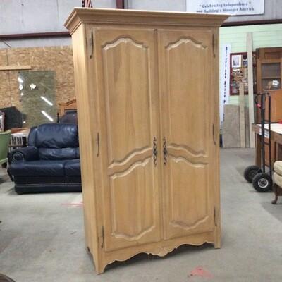 Ethan Allen Armoire Storage Cabinet
