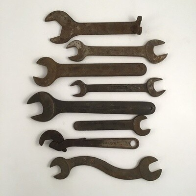 Lot Of Antique Wrenches
