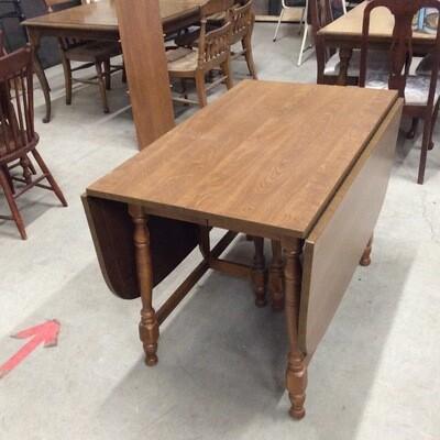 Drop-Leaf Dining Room Table