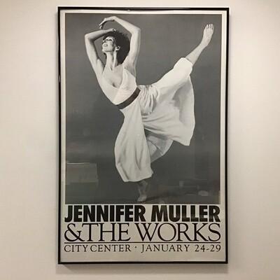 Jennifer muller And The Works Framed Poster