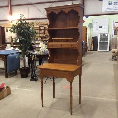 Solid Wood Secretary's Desk