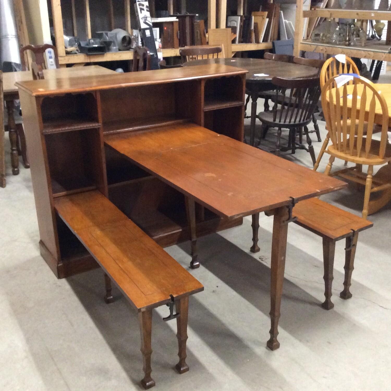 Murphy Table & Bench Set