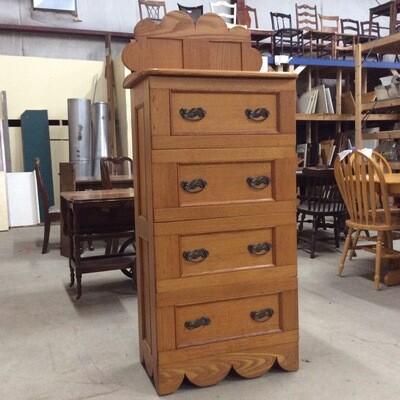 Solid Wood 4 Drawer Dresser