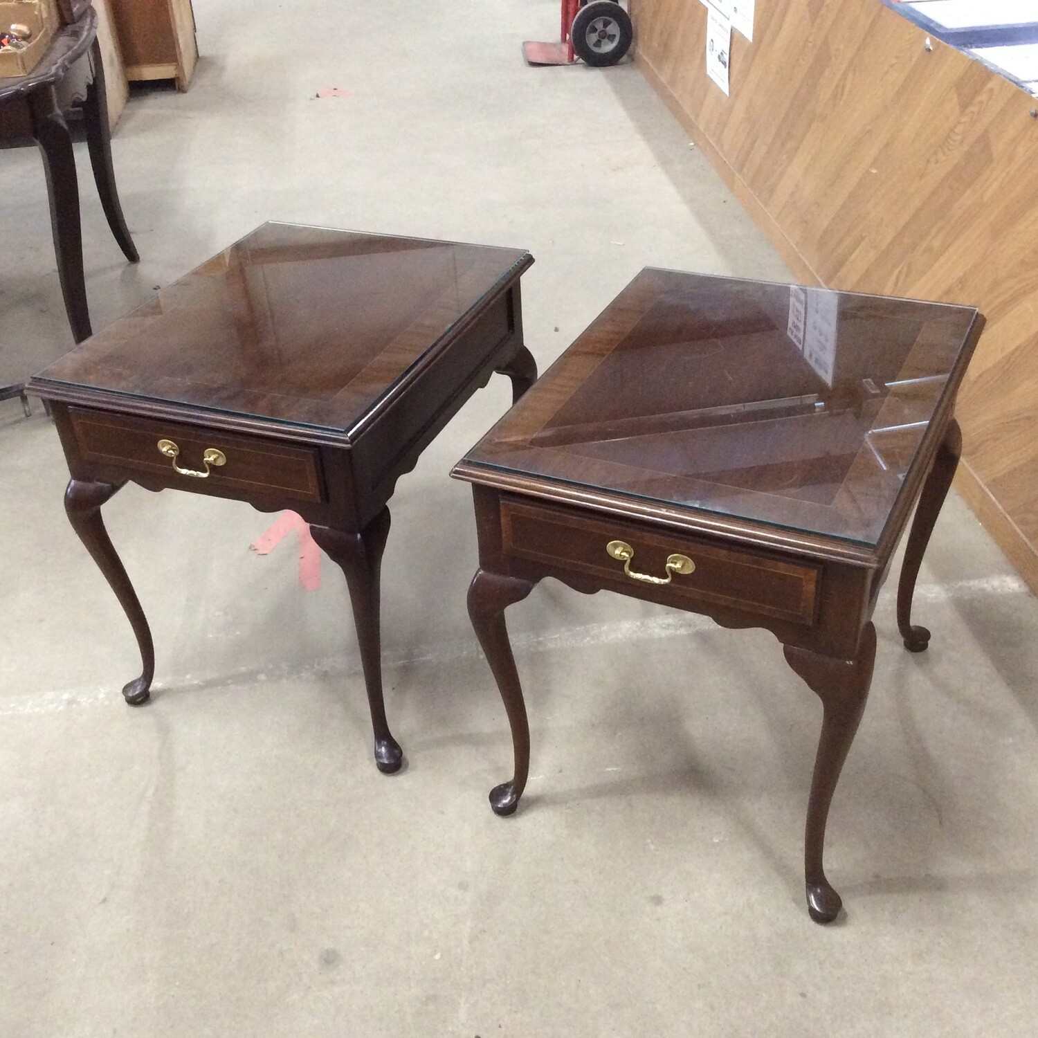 Pair of End Tables by Councill Craftsmen