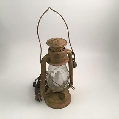 Dietz Oil Lamp Electric Light With Sanskrit