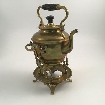 Brass Kettle With Stand