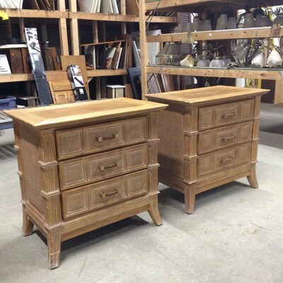 Pair of 3 Drawer Night Stands by Lexington Furniture