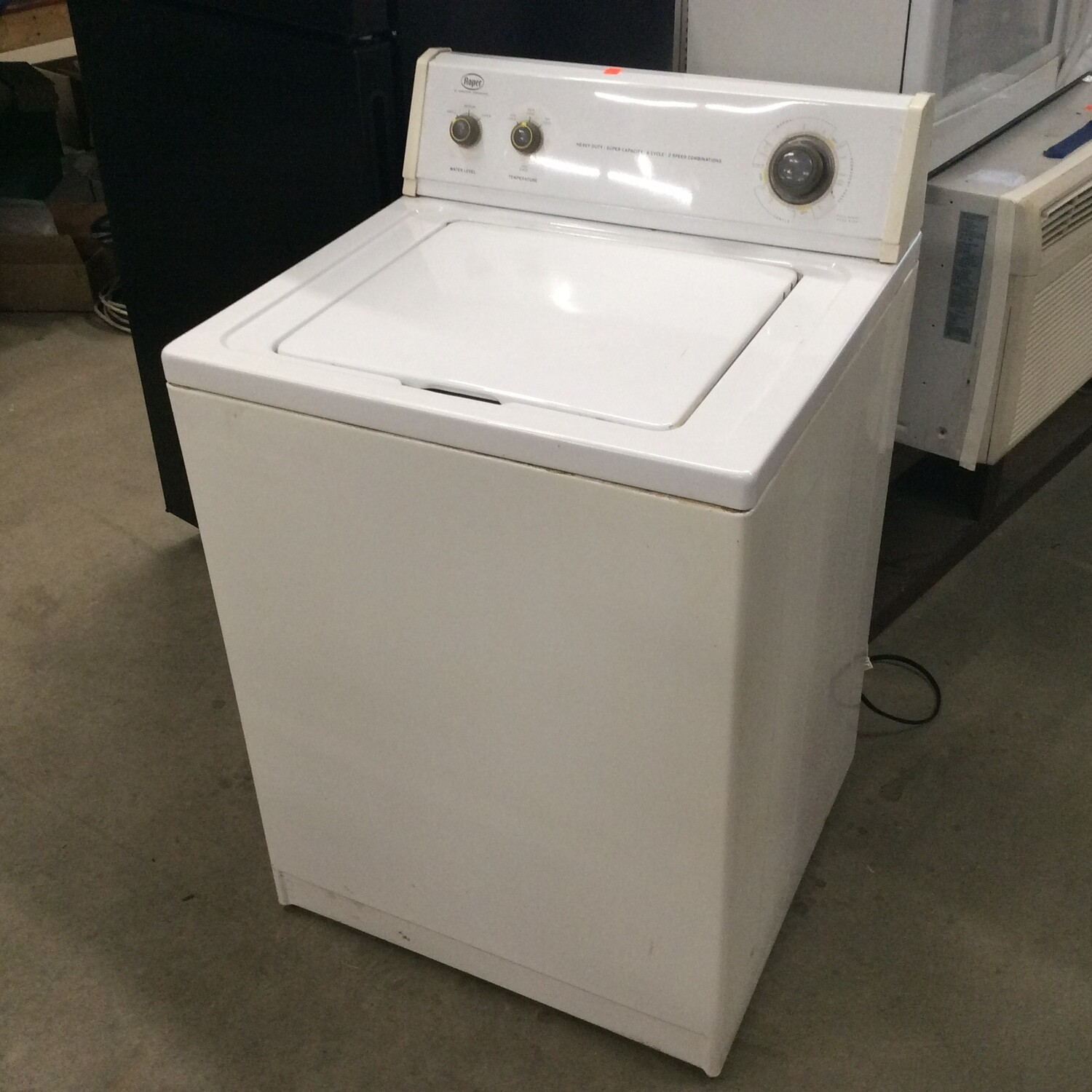 Top-Loading Large Capacity Roper Washing Machine by Whirlpool