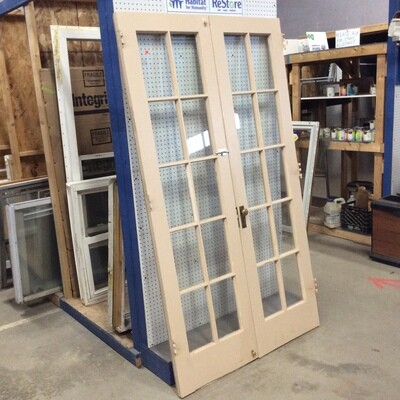 4 Ft. Set of Exterior French Doors