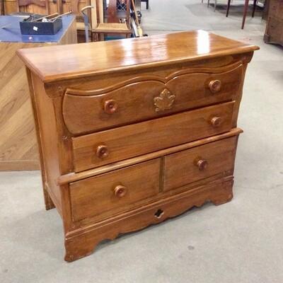 3 Drawer Maple Dresser