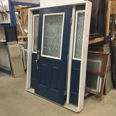 Entryway Door w/Sidelights Unit