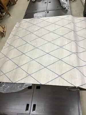 010108 Wool 10x14 design 78% Wool Rug