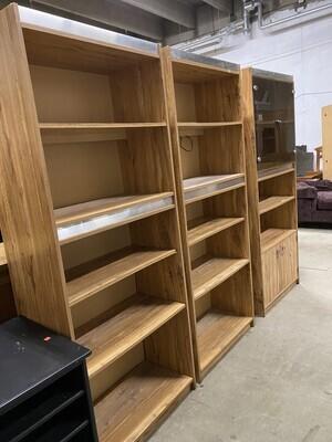 010115 3 Piece Bookcase