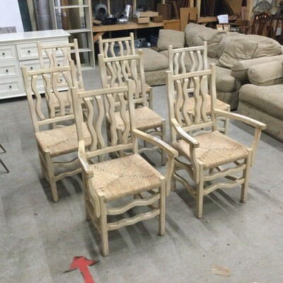 Set of 7 Kitchen Chairs