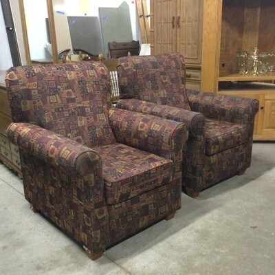 Pair of Matching Arm Chairs