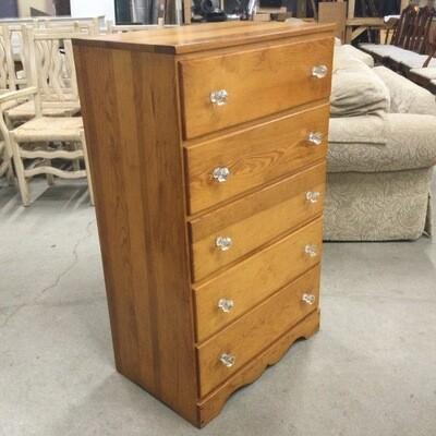 5 Drawer Solid Wood Dresser