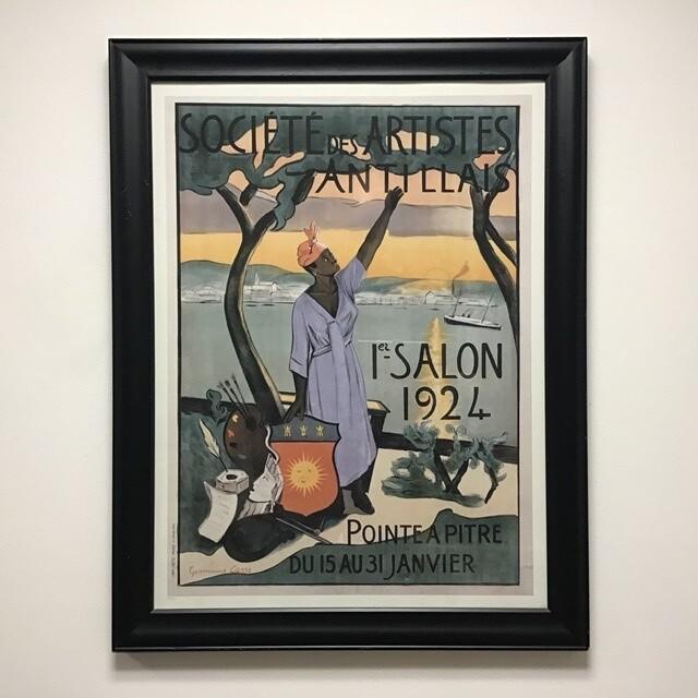 Societe Des Artistes Antillais Framed Poster