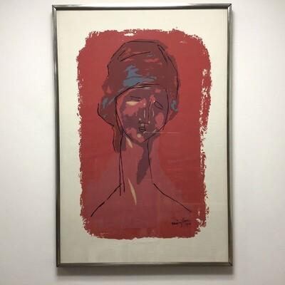 Framed Modigliani Poster
