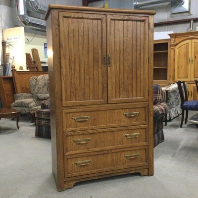 Thomasville 4 Drawer/2 Shelf Storage Armoire