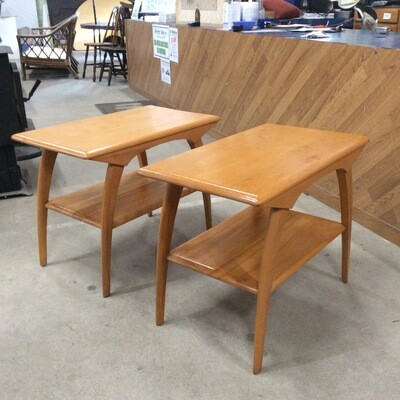 Pair of Heywood Wakefield End Tables/Night Stands