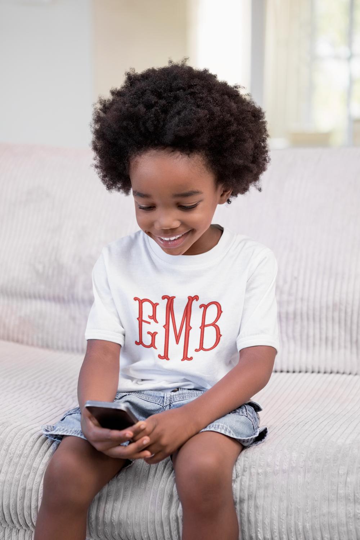 Child's Monogrammed T-Shirt