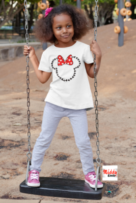 Girl's Minnie Mouse Shirt