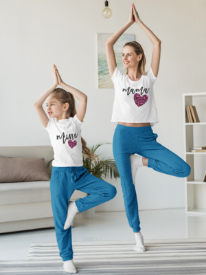 Mommy and Me Heart Shirt - Pink