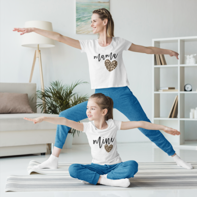 Mommy and Me Heart Shirt